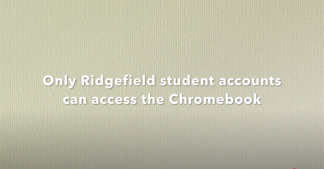 Student Chromebook Set-up Video