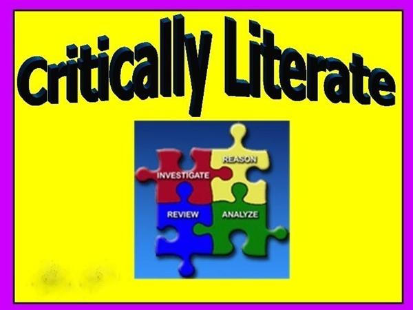 Library Media Services Critical Literacy Skills