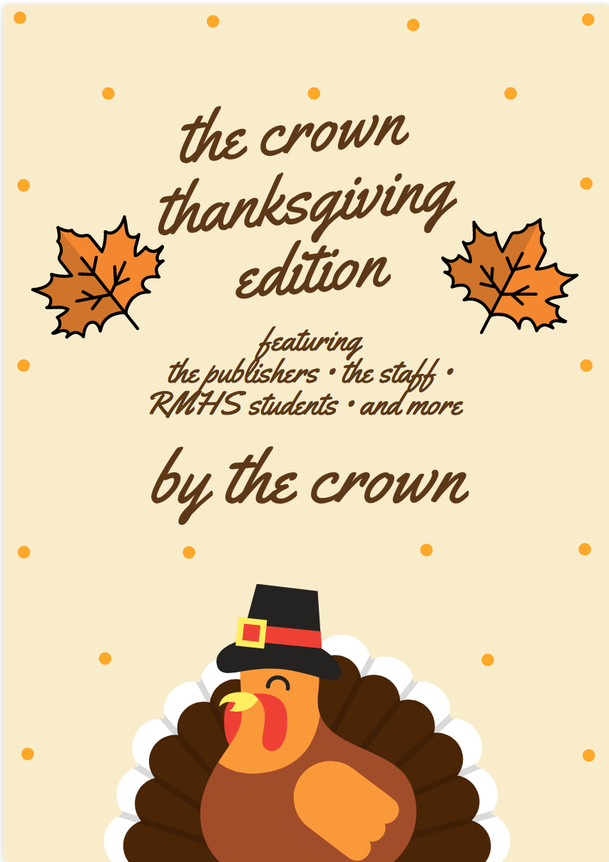 Thanksgiving Edition of the Crown
