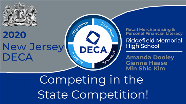 RMHS DECA sends 3 students to States!